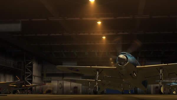 荒野のコトブキ飛行隊 紫電 タクシング フラフラ