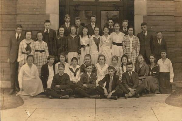 第一次世界大戦中のアメリカの高校