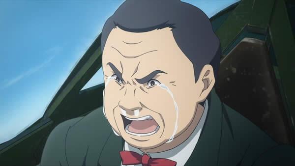 荒野のコトブキ飛行隊 町長 泣き顔