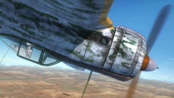 荒野のコトブキ飛行隊 隼 ケイト マイナスG機動