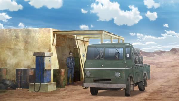 荒野のコトブキ飛行隊 トラック サブジー チビキリエ