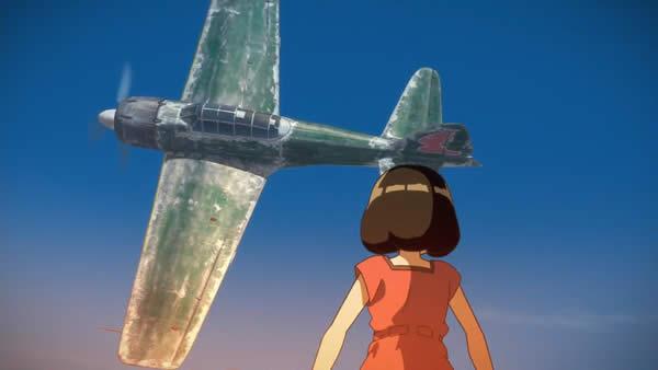 荒野のコトブキ飛行隊  零式艦上戦闘機32型 キリエ サブジー