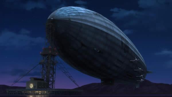 荒野のコトブキ飛行隊 飛行船 黒幕の声