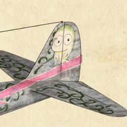荒野のコトブキ飛行隊 隼チカ機 海のウーニー パーソナルマーク
