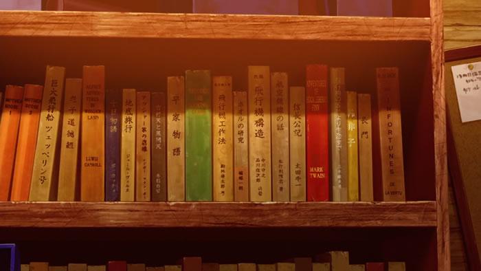 荒野のコトブキ飛行隊 サブジーの本棚の本