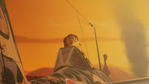 荒野のコトブキ飛行隊 ザラ「最悪ぅ」 撃墜される