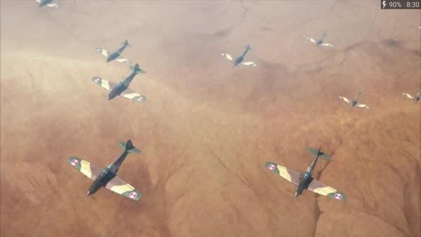 荒野のコトブキ飛行隊 三式戦I型丙