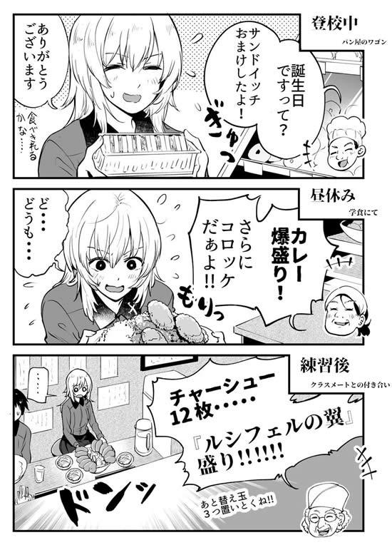 ガールズ&パンツァー 逸見エリカ 誕生日漫画01