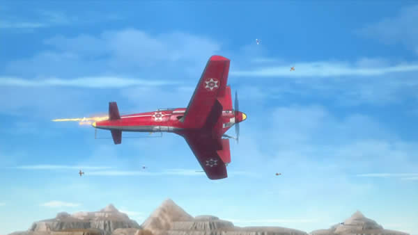 荒野のコトブキ飛行隊 震電 下部塗装コックピット