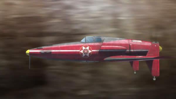 荒野のコトブキ飛行隊 震電