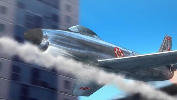 荒野のコトブキ飛行隊 F-86D セイバードッグ