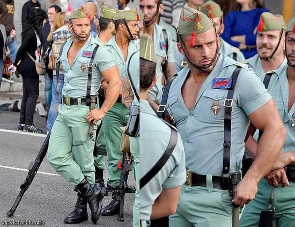 スペイン 青師団 軍服