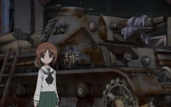 ガールズ&パンツァー 4号戦車と西住みほ 六