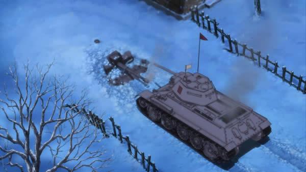 ガールズ&パンツァー 3号突撃砲 T34/75