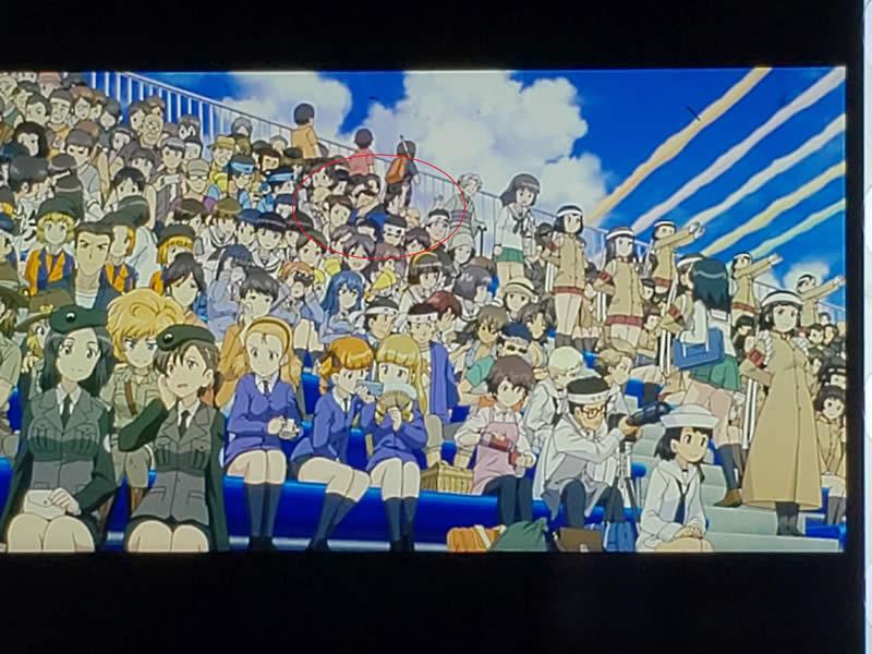 ガールズ&パンツァー 最終章 第2話 観客席 02