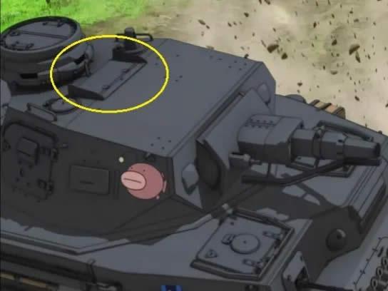 ガールズ&パンツァー 4号戦車 照準器