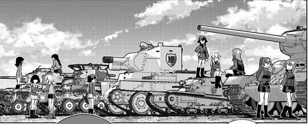 ガールズ&パンツァー 劇場版Variante BT-42 他
