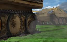 【ガルパン】履帯壊れた車両にトドメをささないのはなんで?