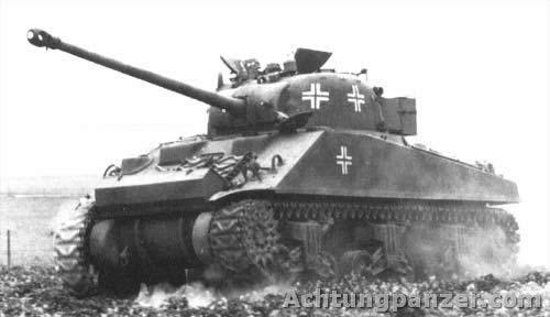 ガールズ&パンツァー ドイツ軍 鹵獲ファイアフライ