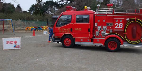 写真 働く車 写真 消防車
