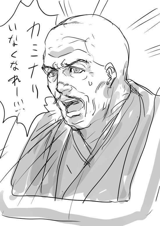 ガールズ&パンツァー 理事長 児玉七郎 カミーユ カミナリいなくなれー!!