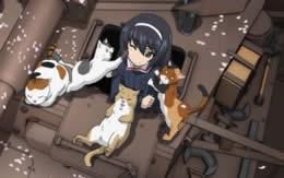 【ガルパン】OPに出てきた猫の謎
