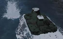 ガールズ&パンツァー 知波単学園 特二式内火艇 サムネイル