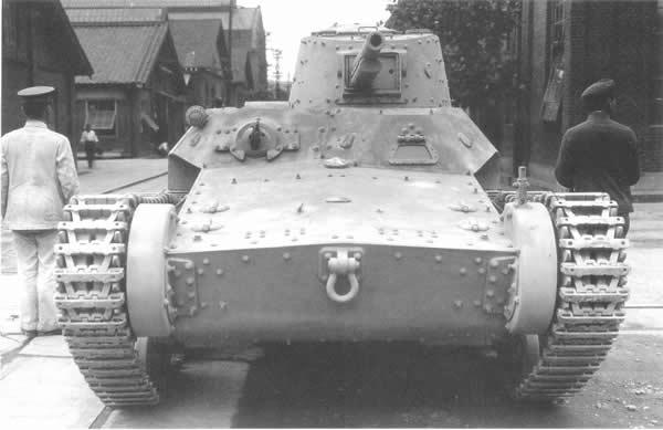 試製中戦車 チニ 02