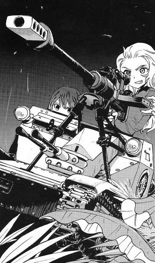 ガールズ&パンツァー パネトーネ CV33 対戦車ライフル