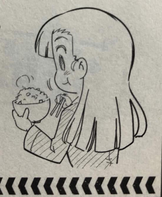 ガールズ&パンツァー 西絹代 漫画 ご飯