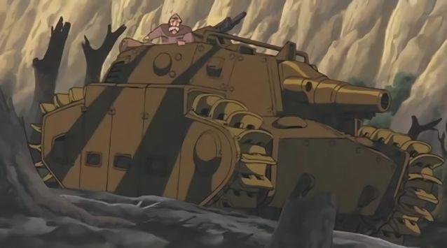 風の谷のナウシカ トルメキア 戦車