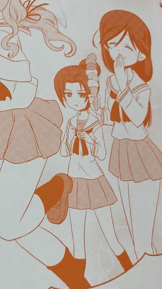 ガールズ&パンツァー 若かりし頃の冷泉久子