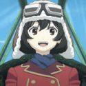 荒野のコトブキ飛行隊 キリエ いい顔 サムネイル