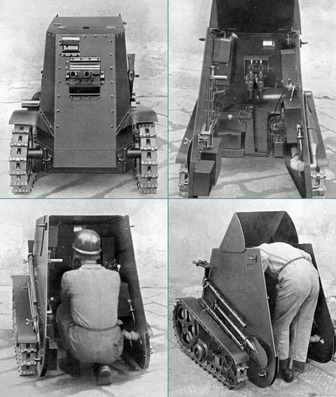 無限軌道付き移送式機関銃?