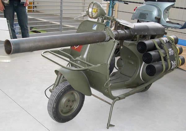 対戦車バイク