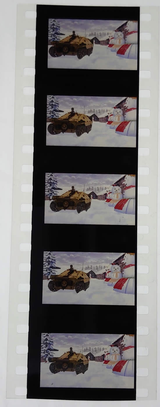 ガールズ&パンツァー 最終章 第3話 フィルム ヘッツアー 雪だるま