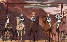 【ガルパン】馬をアニメーターが描くのはたいへん