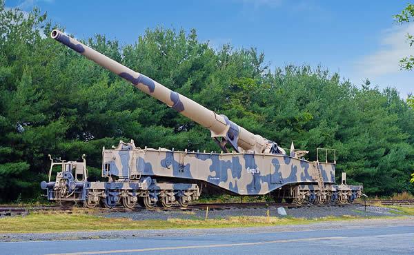 列車砲 クルップK5